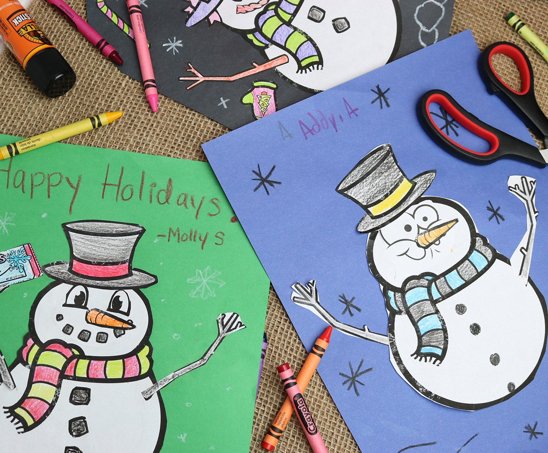 Snowperson Coloring Page
