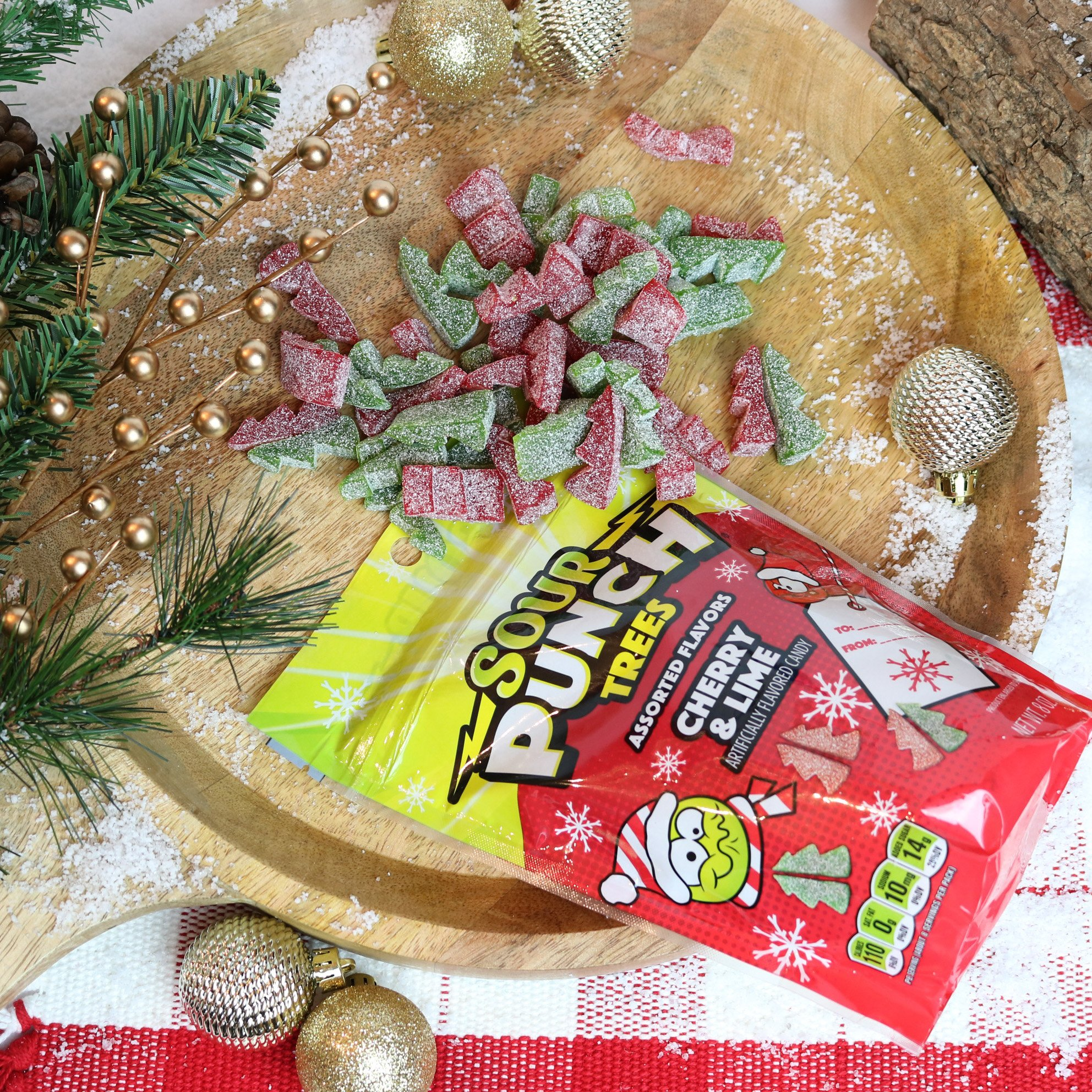 Sour Punch Assorted Flavors Cherry & Lime