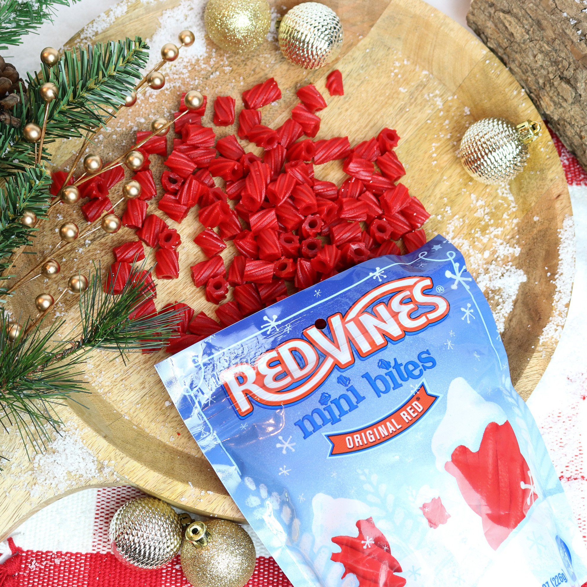 Red Vines Mini Bites Holiday Red