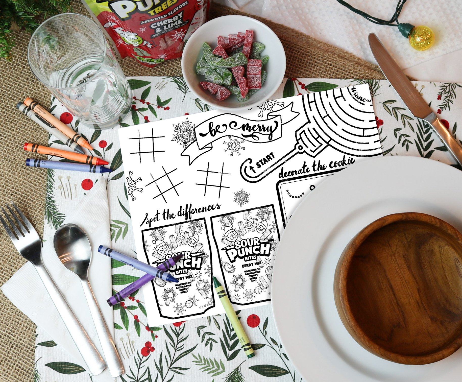 Sour Punch Coloring Page